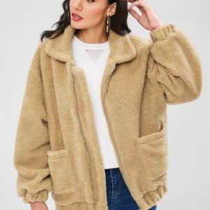 NEW OVERSIZED TEDDY JACKET